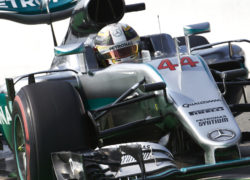 Lewis Hamilton takes Italian GP pole position
