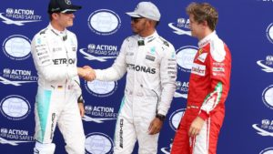 Italian GP qualifying top three