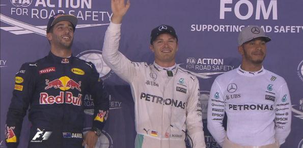 Singapore GP top 3 qualifying