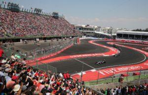 Sergio Perez (MEX) Sahara Force India F1 VJM08. Mexican Grand Prix, Sunday 1st November 2015. Mexico City, Mexico.