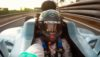 Nico Rosberg captures a high speed onboard selfie in his final drive in the Mercedes WO7