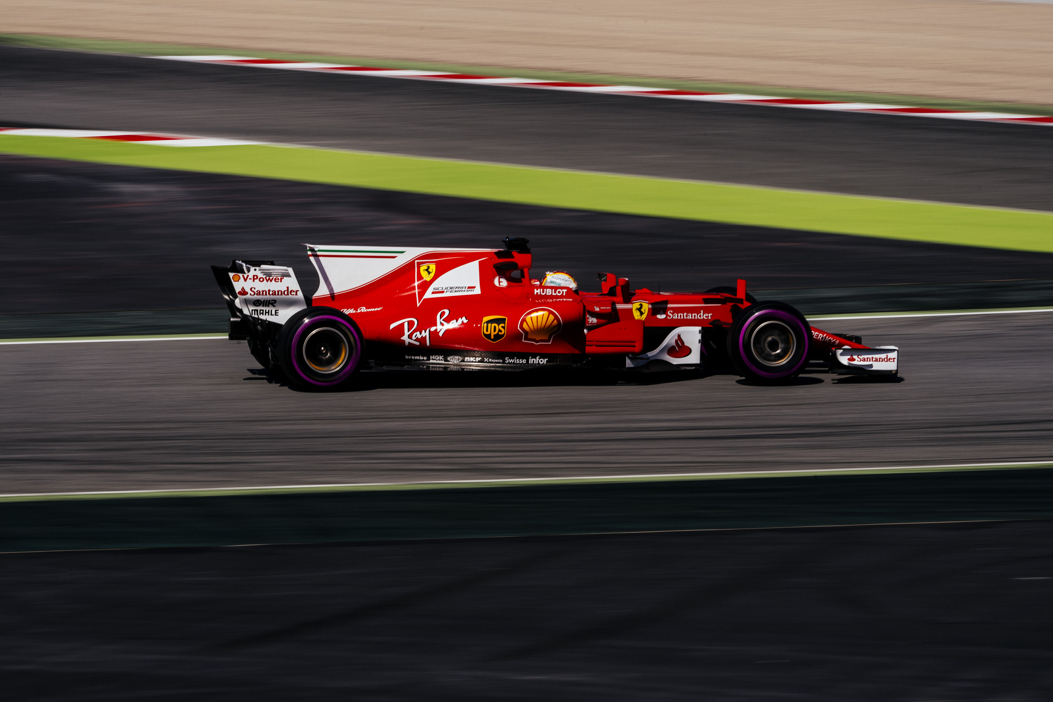 vettel ends his pre season testing top of the time sheets f1 madness