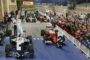 Formula One - MERCEDES AMG PETRONAS, Bahrain GP 2016. Nico Rosberg ; Formel 1 - MERCEDES AMG PETRONAS, Großer Preis von Bahrain 2016. Nico Rosberg;