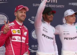 2017 Chinese GP top 3