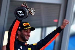 Daniel RIcciardo_Monaco 2017 Podium