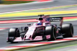Sergio Perez (MEX) Sahara Force India F1 VJM10. Spanish Grand Prix, Sunday 14th May 2017. Barcelona, Spain.