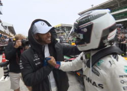 Bottas and Hamilton, Brazil GP qualifying