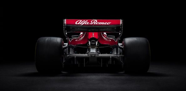 Alfa Romeo Sauber F1 2018 car