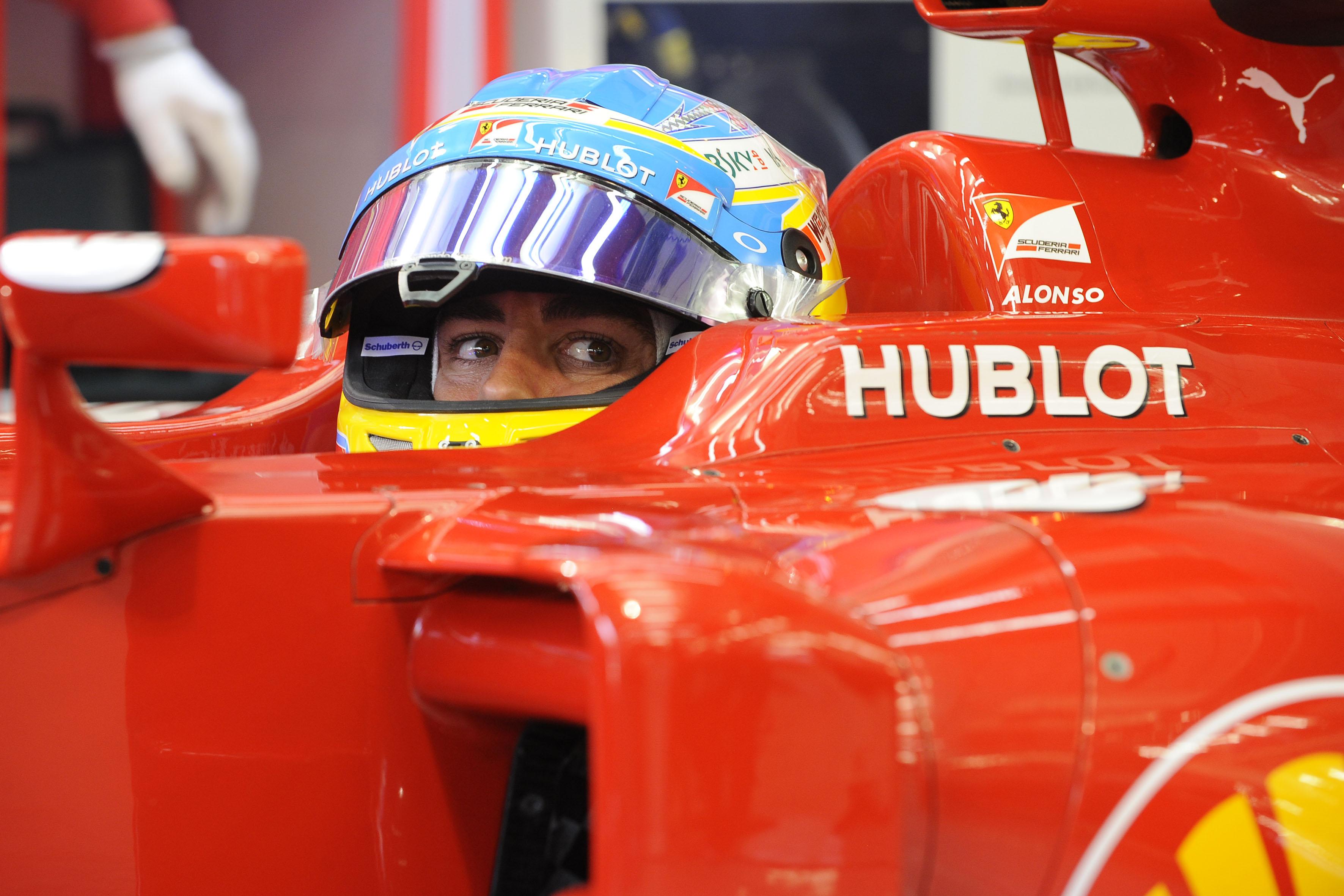 F1 2014 Australia Free Practice 1 Alonso Quickest For Ferrari